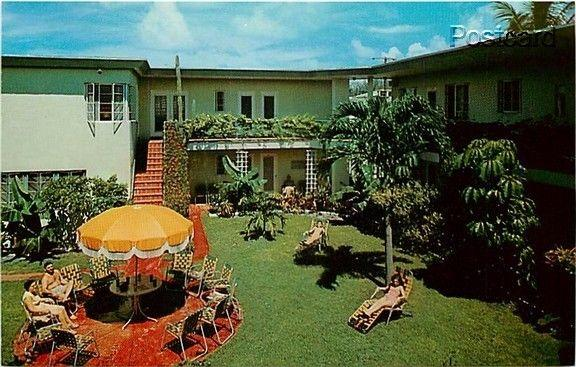 FL, Miami Beach, Florida, Patio Garden Apartments, Dexter No. 25965-B