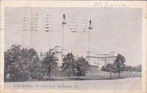 Smith Memorial Fairmount Park Philadelphia Pennsylvana 1907
