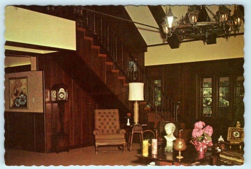 LITCHFIELD, IL ~ Sunshine Park HOUSE OF SUNSHINE Reception Room 4x6 Postcard*