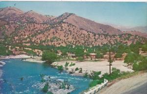 California Three Rivers Kaweah River Showing Beach At Slick Rock