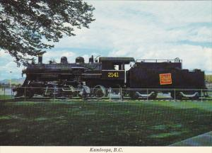 Canadian National Railroad Locomotive Kamloops British Columbia Canada