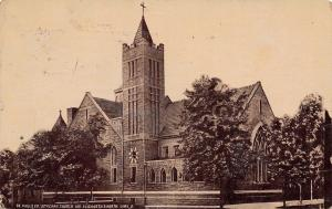 Lima Ohio~St Pauls Evangelical Lutheran Church~Elizabeth & North Streets~1912 PC