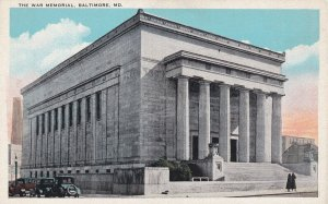BALTIMORE, Maryland, 1900-1910s; The War Memorial