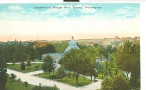 Conservatory, Wright Park, Tacoma, Washington, early 1900...