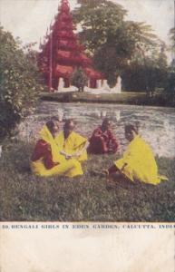Indian Bengali Girls In Eden Garden