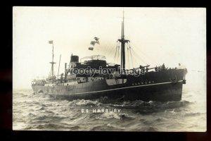 bf1249 - Harrison Cargo Ship - Harbury - postcard B Feilden