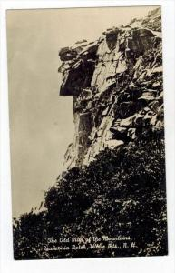 New Hampshire Franconia Notch   THE OLD MAN OF THE MOUNTAIN   RPC
