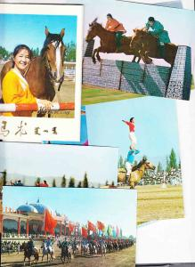 China - Package of Twelve Chinese Equestrians