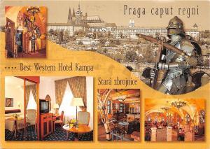 Czech R. Western Hotel Kampa Stara Zbrojnice Armour, Bridge Pont Panorama