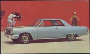 Chevrolet, New Chevelle, Malibu Super Sport Coupe Car, Film Camera (1960s)