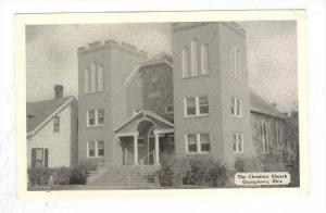 The Christian Church, Georgetown, Ohio, 1965 PU