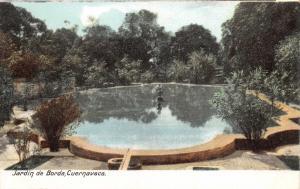 CUERNAVACA MORELOS MEXICO~JARDIN de JOSE de  BORDA~I G HATTON PUBL POSTCARD 1900