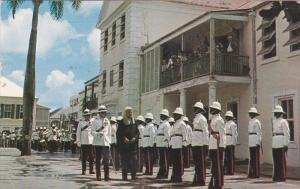 NASSAU, Bahamas, PU-1961; Chief Justice, Inspecting the Guard of Honour