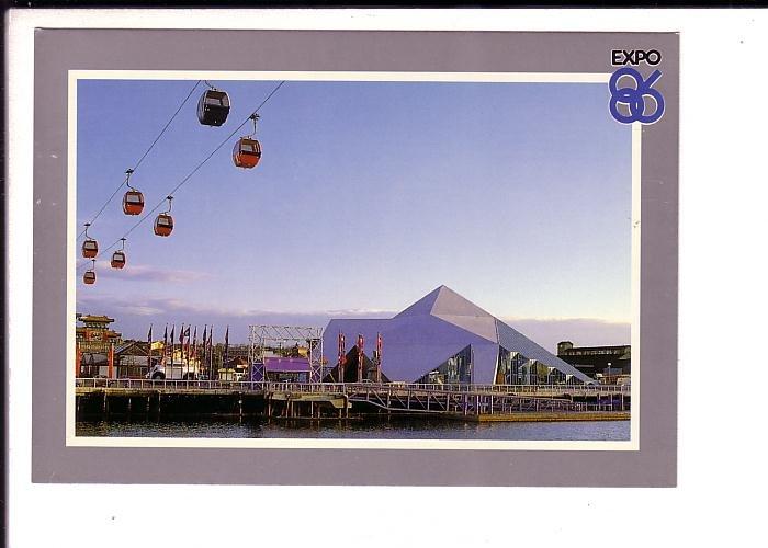 CP Air Skyride, Expo 86 Vancouver, British Columbia, Amusement Raides