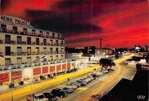 Cameroon, Cameroun, Douala, Vue de nuit, Akwa Palace, Auto Cars Voitures