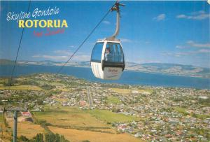 Skyline Gondola Rotorua New Zealand butterfly stamp
