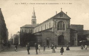 CPA Paris 18e (Dep. 75) L'Église Notre-Dame de Clignancourt (59570)