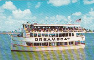 Florida Miami Pier 10 City Yacht Basin Seven Seas Dreamboat Sightseeing Boat