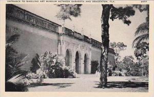 Florida Sarasota Ringling Art Museum Entrance