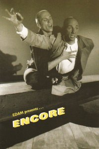 Edam Presents Encore Edam's Studio Theatre Vancouver Canada