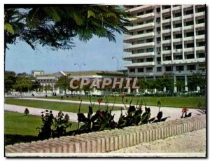 Postcard Modern L & # National 39Assemble And & # 39Immeuble SIFA From Senegal