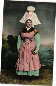 CPA Histoire de Costume En Normandie - AVRANCHES (245779)