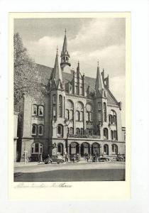 Rathaus (Exterior), Neumünster (Schleswig-Holstein), Germany, 1900-1910s