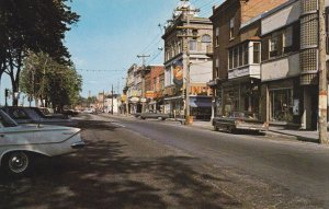 VALLEYFIELD , Quebec , Canada , 1970 ; La Rue Victoria