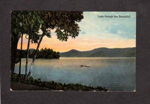NY Vintage LAKE GEORGE NEW YORK Postcard Adirondack