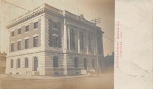 Hastings NE Federal Government Bldg~Courthouse~Post Office (Gone?)~RPPC c1906