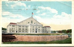 Connecticut Hartford The State Armory 1920