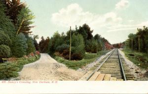 NH - New Durham. Nancy's Crossing (Railroad)
