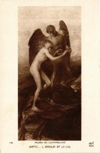 CPA MUSEE DU LUXEMBOURG 174 WATTS L'Amour et la Vie (562270)