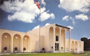 Lake Worth Florida~Owen Chiropractic Clinic~Fountain~1970s Postcard