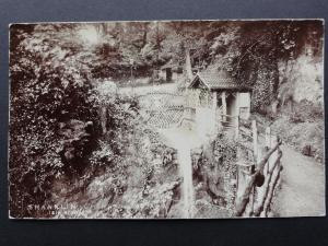 Isle of Wight SHANKLIN CHINE - Old RP by F.N. Broderick of Ryde