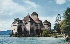 Switzerland Lac Leman Chateau de Chillon