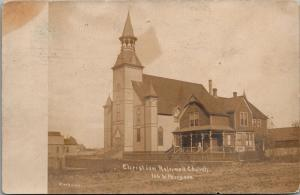 Chicago IL~Second Christian Reformed Church~106th Place & Perry Avenue~1910 RPPC