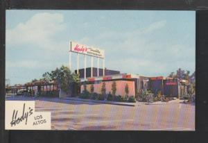Hody's Restaurant,Los Altos,Long Beach,CA Postcard