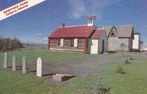 Canada St Martin's Church and Cemetery Heritage Park Calgary Alberta