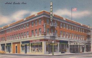 SANTA ANA (Orange Co.) , California , 1956 ; Hotel Santa Ana