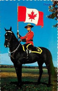 Canada, Canadian Mounted Police, Canadian Post Card No. 5829-C