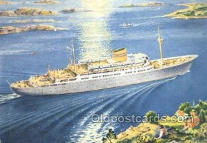 MS Oslofjord Enlarged Continental Size Ship Unused