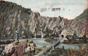 WEBER CANYON, Utah, 1908, Tunnel No. 3