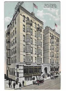 Hotel Victoria Kansas City Missouri 9th & McGee 1920s