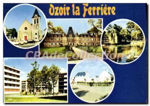 Postcard Modern Ozoir la Ferriere (S & M)