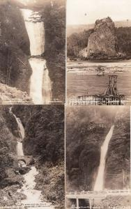 Columbia River Highway Ore 4x Antique USA Real Photo Postcard s