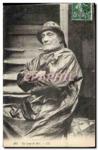 Old Postcard Fishing Fisherman sailed in