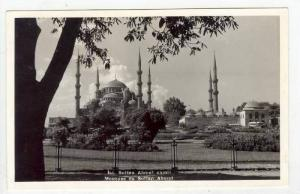 RP: Mosque of Sultan Ahmet,Constantinople / Istanbul, Turkey 1940-50s