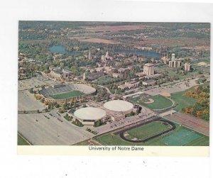 Vtg 1979 University of Notre Dame, New York Continental Postcard