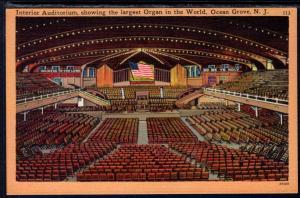 Interior Auditorium,Organ,Ocean Grove,NJ